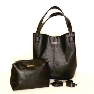 Vegan Jeane & Jax Combo Hobo Bag and Crossbody Bag